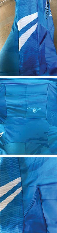 Semi-custom Tri suit details