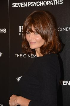 "Helena Christensen Photos: The Cinema Society And CBS Films Screening Of ""Seven Psychopaths"" - Arrivals"