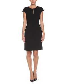 Tory Burch Gia Black Embellished Crepe Dress is on Rue. Shop it now.