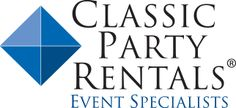 Pattered Linens- Classic Party Rentals
