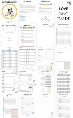 Freebie Download: Blog Planner  (em português)