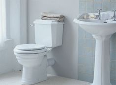 Install a new toilet