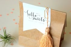 Day-Of Wedding Stationery Inspiration and Ideas: Favor Tags and Labels via Oh So Beautiful Paper (5)