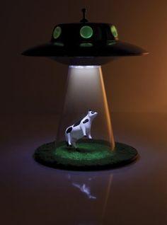Alien Abduction Lampa