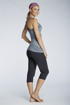 Channel your inner goddess in this Namaste-ready get-up. The Fremont Tank is seamless and chafe-resistant while the Hamilton Sweatpant features elastic cuffs and a drawstring waist. Add a functional headband and you're set! |Meadow - Fabletics