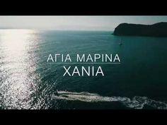 Chania Crete Greece Dji Mavic Pro DRONE Agia Marina - YouTube