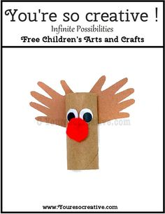 Your little artist will have fun making this craft. For more FREE kids craft projects please visit www.youresocreative.com