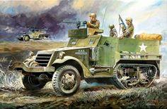 Las Cosicas del Panzer — M3A1 Half track