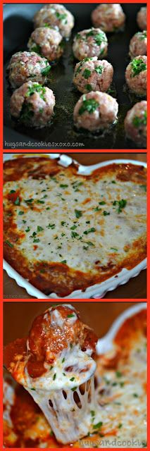 Hugs & CookiesXOXO: WORLD'S MOST AMAZING MEATBALL PARM!!!!!!!
