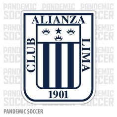 Alianza Lima Peru Vinyl Sticker Decal Calcomania