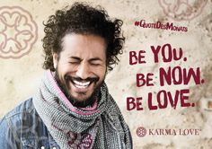 Genieße den Moment. In ihm liegt der wunderbare Magie des Lebens. Du. Hier und jetzt. Liebe. Karma Love /// Be you. Be now. Be love. /// #KarmaLove #QuoteDesMonats #Yoga #spirituality #yoga #risebyliftingothers #meaningfulfashion #yogalove #yogalife Karma, Positive Messages, Yoga, Statements, Inspire Others, Real Life, Positivity, Quotes, People