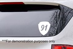 Vinyl Decal Shield 91 from Psalm 91 Christian