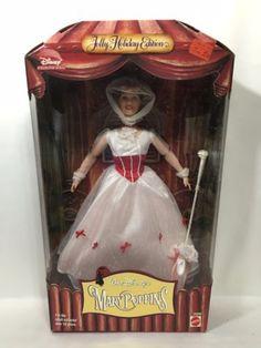 1999-MARY-POPPINS-Disney-Barbie-Doll-Jolly-Holiday-Edition-23590-NRFB