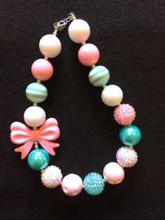 A personal favorite from my Etsy shop https://www.etsy.com/listing/470563692/bubblegum-necklace-chunky-necklace