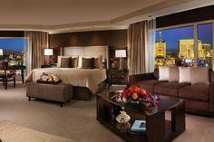 Premium Fountain View room ~ Bellagio Resort, Las Vegas
