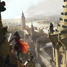 wq0326:  Stunning Concept Artwork for Assassin's Creed:...