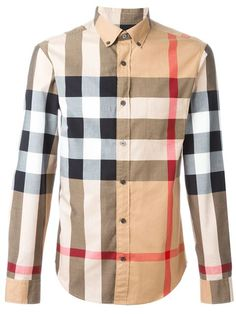 f1d31eaa6db7 BURBERRY BRIT BURBERRY - CHECKED SHIRT .  burberrybrit  cloth  shirt  Burberry Brit Men