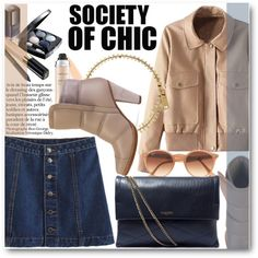 Society Of Chic by stylemoi-offical on Polyvore featuring moda, Chloé, Lanvin, Marc by Marc Jacobs, Ray-Ban, Christian Dior, Chanel and stylemoi