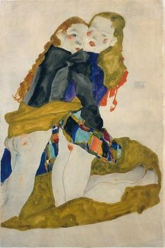 These Are The Women Of Gustav Klimt And Egon Schiele's Paintings