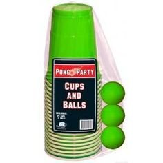 Green Pong Set