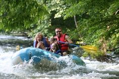 This place is great for white water rafting or taking your time down the river.  Use a sit on top kayak or inner tube.  Great weekend fun!  I go every year.
