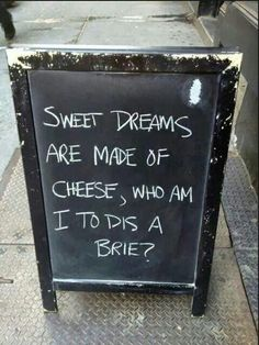 Love me some cheese! One Job, I Smile, Make Me Smile, Funny Quotes, Funny Memes, Hilarious Sayings, Hilarious Animals, It's Funny, Signs