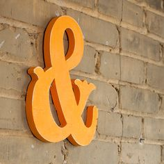 for reals, who doesn't love a good ampersand? WilliamDohman via Etsy