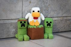 minecraft plushies | minecraft plush by xxkurobaraxx artisan crafts dolls plushies custom ...