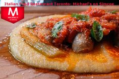 Welcome to Michael's On Simcoe provides best Italian food in Toronto at affordable prices. We have a team of expert chef who cooks yummy food for their customer which fulfil your appetite. Best Restaurants In Toronto, Best Italian Restaurants, Best Italian Recipes, Italian Food Restaurant, Italian Menu, Good Food, Yummy Food, Fine Dining, Seafood