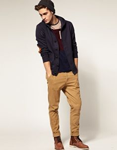 River Island Elbow Patch Cardigan