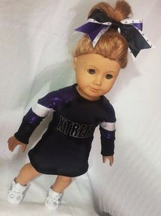 Xtreme+Cheer+Uniform++American+Girl+by+AnniquesNook+on+Etsy,+$60.00