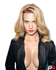 Betty Draper-The Sexiest Women of 2012: Photos: GQ whoa Betty!
