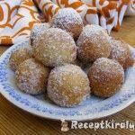 Gyors vaníliás fánk   Receptkirály.hu Dog Food Recipes, Muffin, Breakfast, Morning Coffee, Dog Recipes, Muffins, Cupcakes