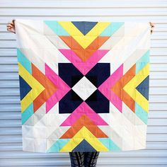 "2,378 Likes, 54 Comments - Cotton+Steel (@cottonandsteel) on Instagram: ""Who needs a fun weekend project? This quilt can be made with a FQ bundle of the 11 Add It Up…"""