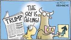Cartoon of the Day: Chicken Little - 05.19.2017 sky is falling cartoon
