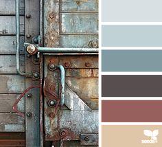 rustic hues