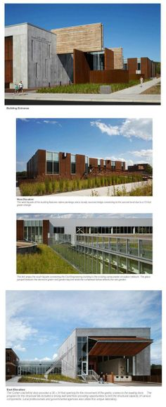 The Swenson Civil Engineering building at the University of Minnesota Duluth. Ross Barney Architects and SJA Architects Photos: Kate Joyce Studios