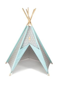 Tipi Kids Play Teepee Tent Little NOMAD grey by TeepeeLittleNOMAD