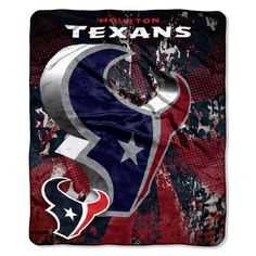 NFL Houston Texans Micro Raschel Plush Throw Blanket, Grunge Design by Northwest. $19.99. Rather you are at the game, on the couch, or on a picnic, this Micro Raschel Throw is both comfortable and convenient. These remarkably soft throws feature bold vibrant team colors with team logo. They are made from a super plush 100% polyester micro raschel fabric. This throw measures 50-inches-by-60-inches and is detailed with a decorative binding around the edges. This durab...