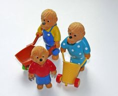 Vintage 1980s Berenstain Bears Happy Meal Toys  5 by RyanRose, $12.00