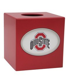 Another Great Find On #zulily! Ohio State Buckeyes Tissue Box Cover By Fan  Creations
