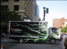Westar Energy ElectricGo electric vehicle wraps. by Madeline McCullough, via Behance