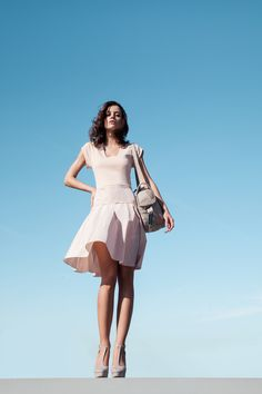 Milano and taffeta dress Dominic Ballet shoes pink by Repetto - Collection spring-summer 2015 Ballet Shoes, Ballet Skirt, Taffeta Dress, Summer Breeze, Sweet Style, Spring Summer 2015, Wardrobes, Dance Wear, Personal Style