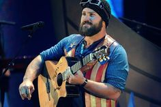 Zac Brown was feeling particularly patriotic at the 2011 CMT Music Awards, wearing this stars and stripes leather vest. It looks like it's the not the first time he's put Old Glory on his back, but that wouldn't be surprising. His band's hit 'Chicken Fried' is one of the best, most subtle celebrations of America ever recorded.