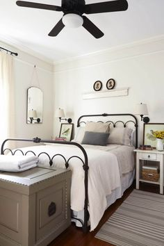 27 Interior Designs with Bedroom ceiling fans Interiorforlife.com Southern Weddings Magazine