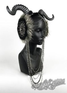 Faux Horn Headpiece