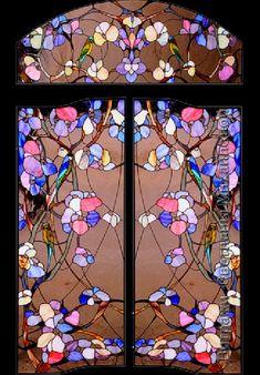 Stained glass art by Svetlana Mikhailova                                                                                                                                                                                 Más