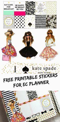 Free Kate Spade printables.