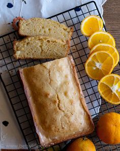 Almond Orange Vanilla Pound Cake. Made with Vanilla Almond Milk