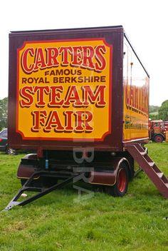 Carters Steam Fair box truck